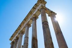 колонки римские Стоковые Изображения