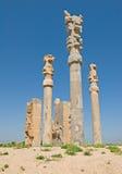 Колонки стародедовского города Стоковое Изображение RF