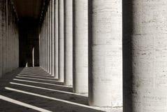 колоннада Италия мраморный rome Стоковые Изображения