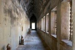 Колоннада, Ankor Wat стоковое изображение rf