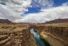 Колорадо около мраморного каньона Аризоны стоковое фото rf