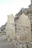 колоссальные головки устанавливают статуи nemrut Стоковое фото RF