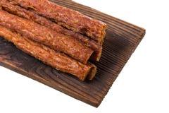 Колотят бар свинины, сухой бар свинины изолированный на белой предпосылке Стоковое Фото