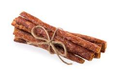 Колотят бар свинины, сухой бар свинины изолированный на белой предпосылке Стоковые Изображения