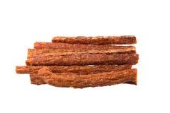 Колотят бар свинины, сухой бар свинины изолированный на белой предпосылке Стоковое фото RF