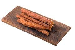 Колотят бар свинины, сухой бар свинины изолированный на белой предпосылке Стоковое Изображение