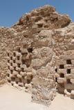 Колумбарий, Masada, Израиль Стоковые Изображения RF