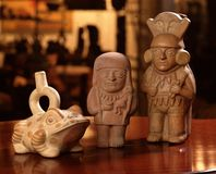 колумбийская гончарня inca pre Стоковое Фото