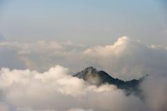 Колумбия - пик горы в Сьерре Неваде de Santa Marta Стоковое Фото
