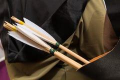 Колчан стрелок Стоковые Фотографии RF