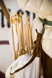 колчан стрелок стоковая фотография rf