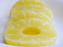 кольца ананаса стоковое фото