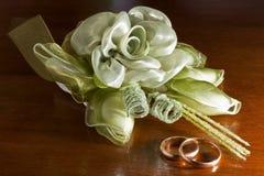 кольца благосклонностей wedding Стоковые Фото