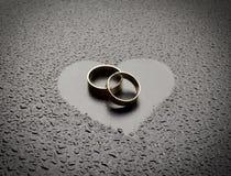 кольца влюбленности Стоковые Фотографии RF