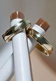кольца золота 2 Стоковые Фотографии RF