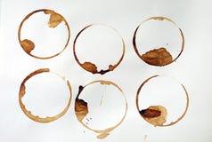 кольца кофе Стоковое Фото
