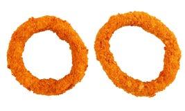2 кольца лука изолированного на белизне Стоковое Фото