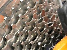 Кольца металла цепные велосипеда Стоковые Фото