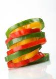 кольца паприки Стоковая Фотография