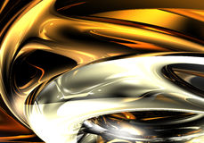 кольца померанца chrom Стоковые Изображения RF