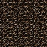 кольца предпосылки золотистые сделанные безшовная текстура Стоковая Фотография RF