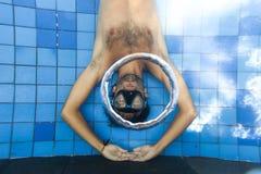 кольца пузыря Стоковая Фотография