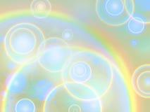 кольца радуги предпосылки Стоковые Изображения