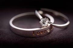 кольца 2 Стоковая Фотография