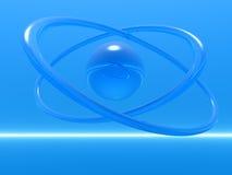 кольца aqua Стоковые Фото