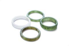 Кольца Nephrite Стоковая Фотография