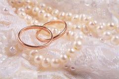 кольца wedding стоковая фотография