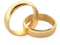 кольца wedding Стоковое фото RF