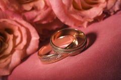кольца wedding Стоковые Фото