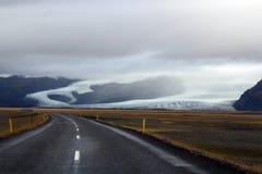 кольцевая дорога в Исландии стоковые изображения rf