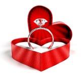 Кольцо диаманта стоковые изображения