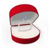 кольцо диаманта иллюстрация вектора