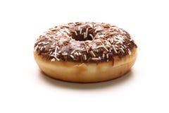 кольцо донута шоколада Стоковое Изображение