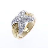кольцо золота диаманта Стоковые Фотографии RF