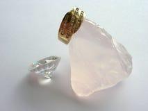 кольцо золота диамантов Стоковое Изображение