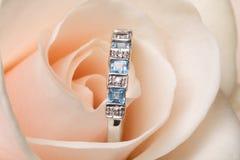 кольцо золота захвата Стоковая Фотография