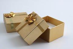 кольцо коробки Стоковое Фото