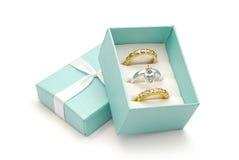 кольцо коробки Стоковые Изображения