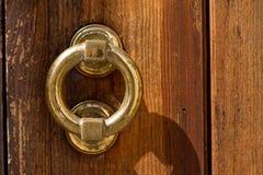 Кольцо на двери Стоковые Изображения