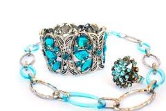 кольцо ожерелья браслета Стоковое Изображение