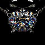 кольцо перевода диаманта 3d Стоковые Фото