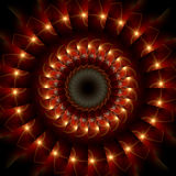 кольцо пожара Стоковая Фотография RF