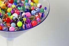 кольцо пупка коктеила Стоковая Фотография