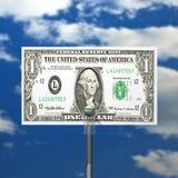 кольцо решетки доллара доски баскетбола шарика Стоковая Фотография