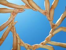 кольцо рук Стоковая Фотография