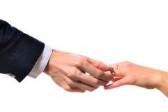 кольцо рук Стоковые Фотографии RF
